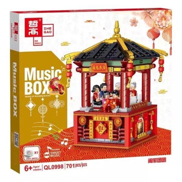 ZHEGAO QL0998 MUSIC BOX 0