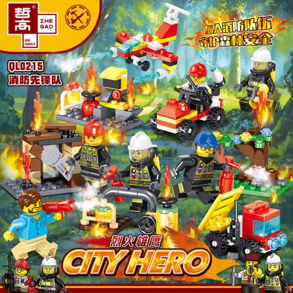 ZHEGAO QL0215 Fire Eagle: Fire Pioneer 8 0