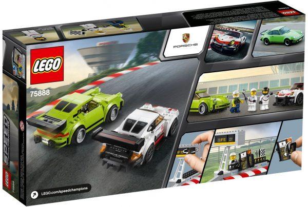 ZHEGAO QL0720-3 Super Racing Cars: Porsche 911 RSR and Porsche 911 Turbo 3.0 2