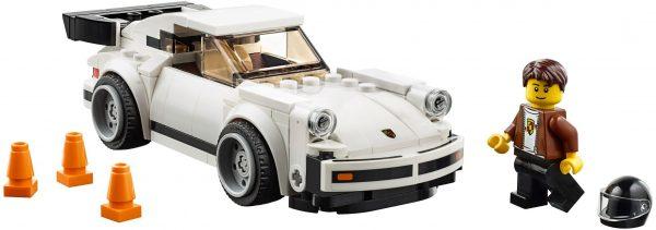 ZHEGAO QL0720-3 Super Racing Cars: Porsche 911 RSR and Porsche 911 Turbo 3.0 6