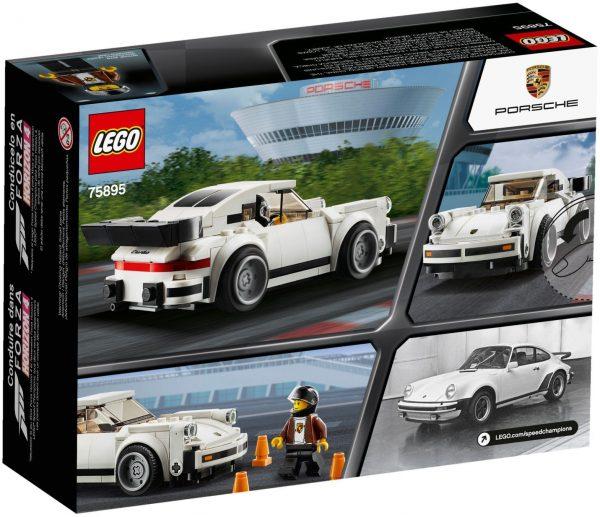 ZHEGAO QL0720-3 Super Racing Cars: Porsche 911 RSR and Porsche 911 Turbo 3.0 10