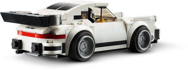 ZHEGAO QL0720-3 Super Racing Cars: Porsche 911 RSR and Porsche 911 Turbo 3.0 9