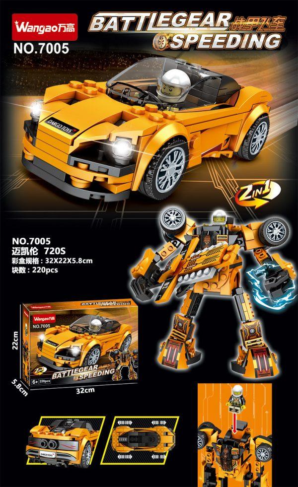 ZHEGAO QL0720-2 McLaren 720S 7