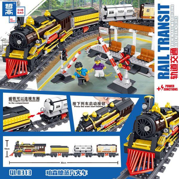 ZHEGAO QL0313 Rail Transport: Persend Steam Train 3