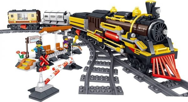 ZHEGAO QL0313 Rail Transport: Persend Steam Train 5