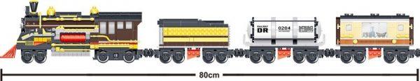 ZHEGAO QL0313 Rail Transport: Persend Steam Train 7