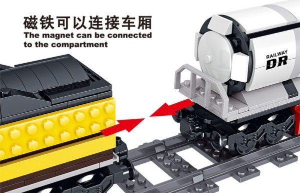 ZHEGAO QL0313 Rail Transport: Persend Steam Train 8