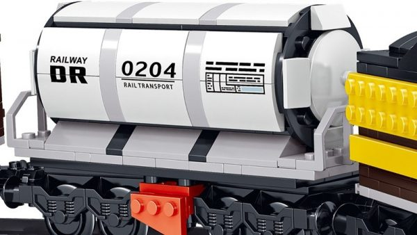 ZHEGAO QL0313 Rail Transport: Persend Steam Train 11