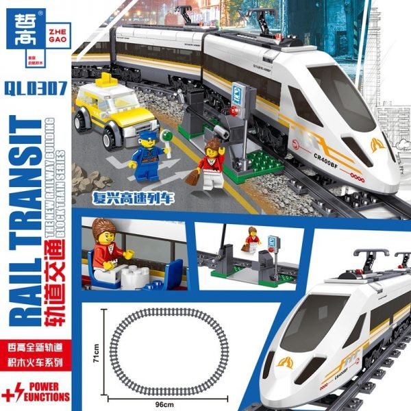 ZHEGAO QL0307 Rail Transport: Revival of High-Speed Trains 1