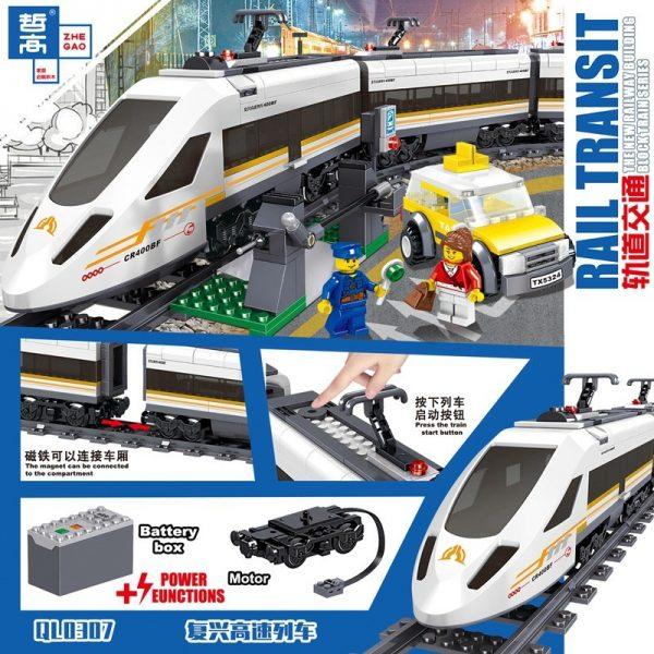 ZHEGAO QL0307 Rail Transport: Revival of High-Speed Trains 2