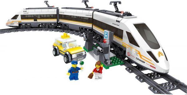 ZHEGAO QL0307 Rail Transport: Revival of High-Speed Trains 3