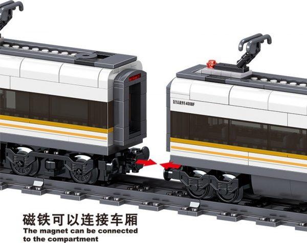 ZHEGAO QL0307 Rail Transport: Revival of High-Speed Trains 8