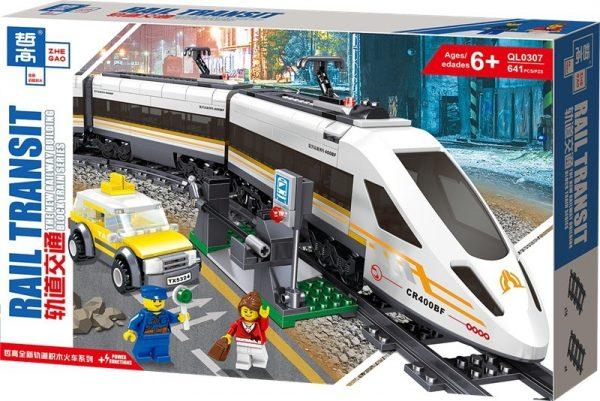 ZHEGAO QL0307 Rail Transport: Revival of High-Speed Trains 13