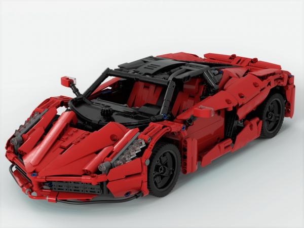 ZHEGAO QL0417 Ferrari Ferrari 1:10 2