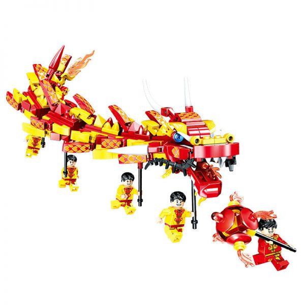 ZHEGAO QL0955 New Year's Day: Dragon Dance 8