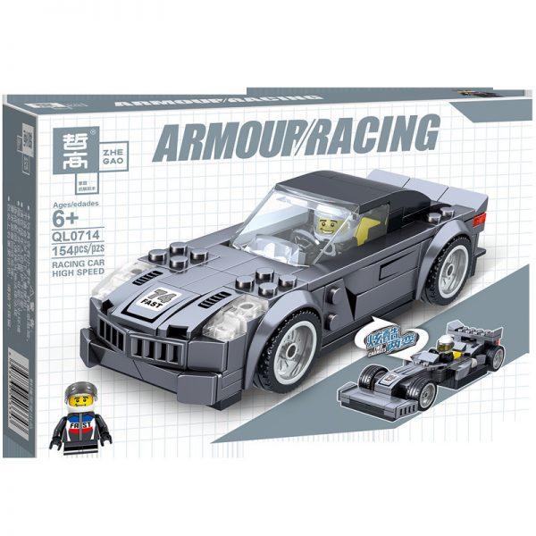 ZHEGAO QL0717 Two-change Racing Cars: 4 4