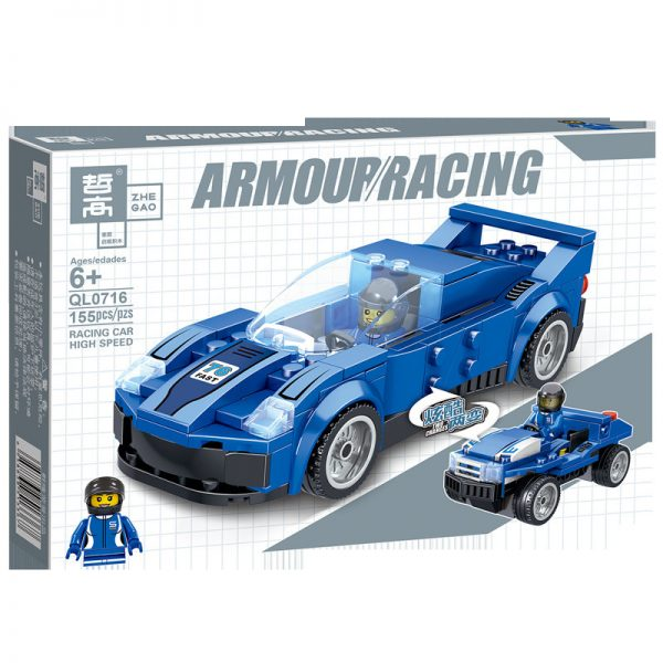 ZHEGAO QL0715 Two-change Racing Cars: 4 6