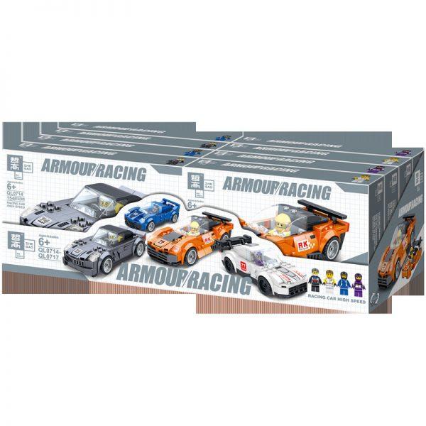 ZHEGAO QL0717 Two-change Racing Cars: 4 8