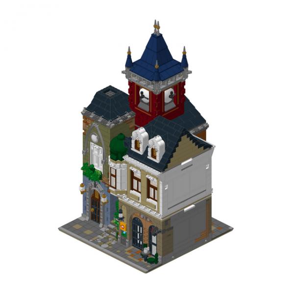ZHEGAO QL0924 Old Tavern 3