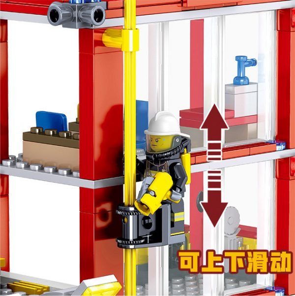 ZHEGAO QL0221 Fire Eagle: Fire Safety Building 6