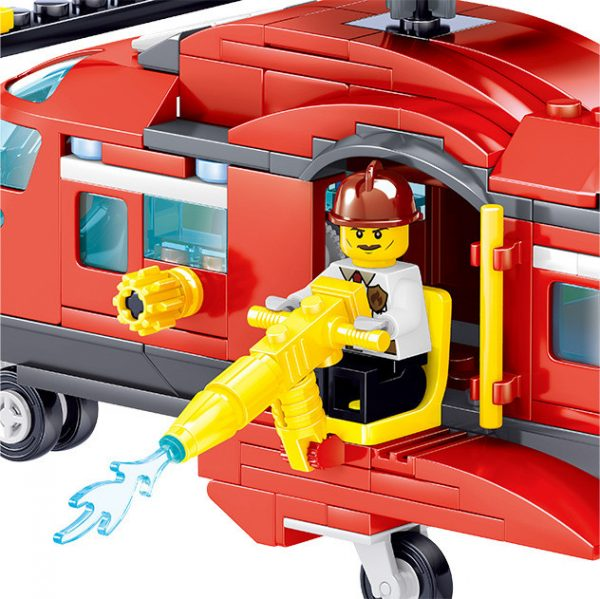 ZHEGAO QL0218 Fire Eagle: Fire and Rescue Helicopter 3