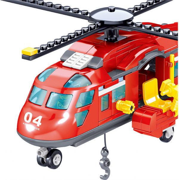 ZHEGAO QL0218 Fire Eagle: Fire and Rescue Helicopter 4