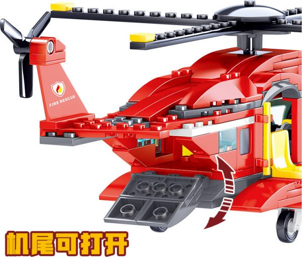 ZHEGAO QL0218 Fire Eagle: Fire and Rescue Helicopter 5