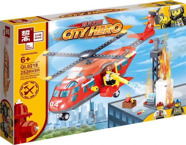 ZHEGAO QL0218 Fire Eagle: Fire and Rescue Helicopter 8