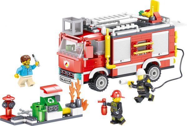 ZHEGAO QL0219 Fire Eagle: Rescue Fire Engine 2