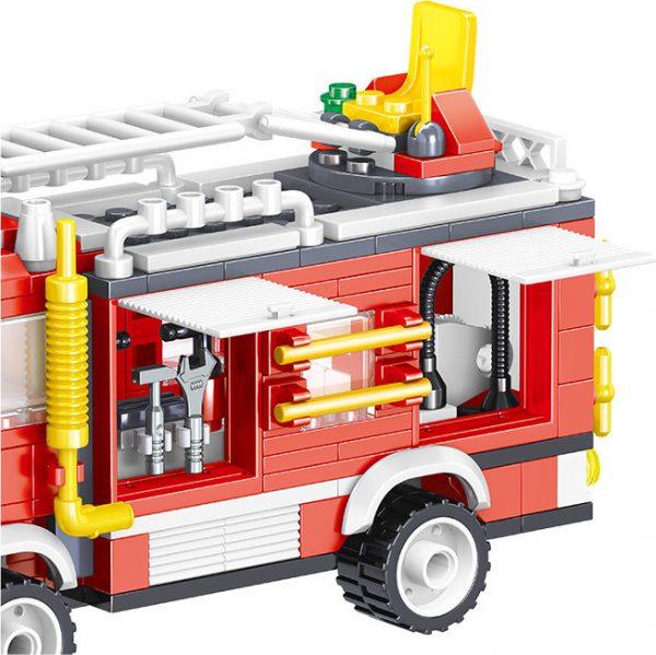 ZHEGAO QL0219 Fire Eagle: Rescue Fire Engine 4