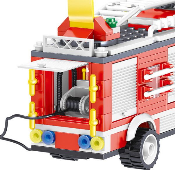 ZHEGAO QL0219 Fire Eagle: Rescue Fire Engine 5