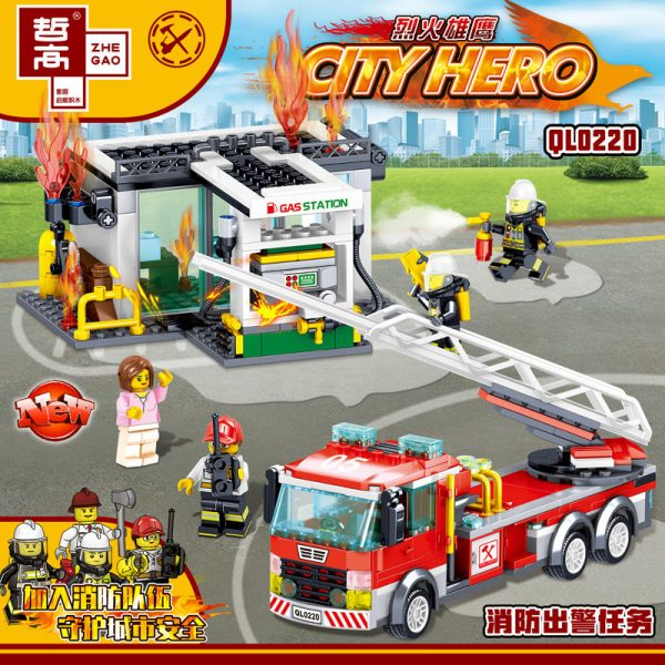 ZHEGAO QL0220 Fire Eagle: Fire Out Of A Mission 1