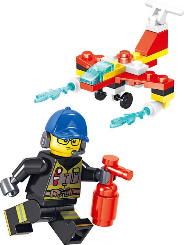 ZHEGAO QL0215 Fire Eagle: Fire Pioneer 8 5