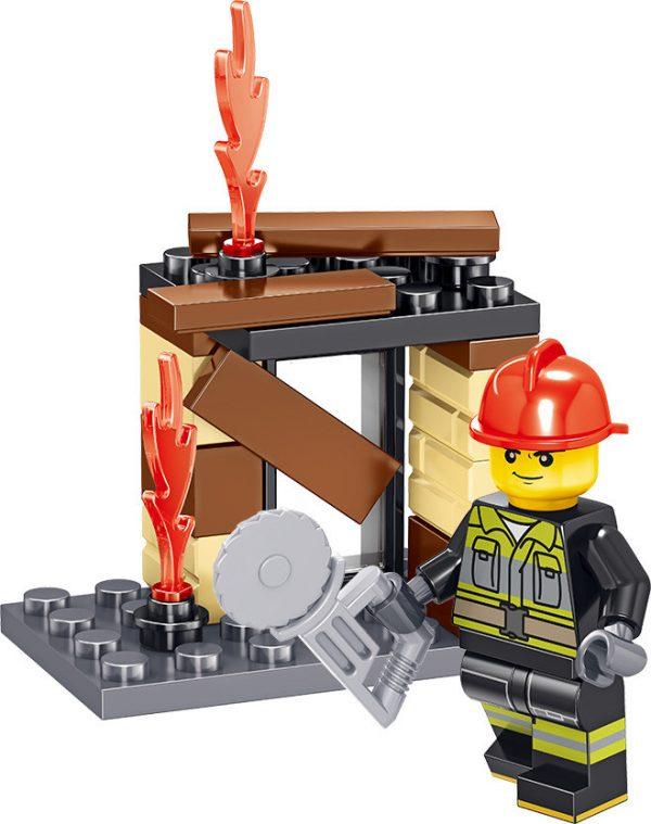 ZHEGAO QL0215 Fire Eagle: Fire Pioneer 8 10