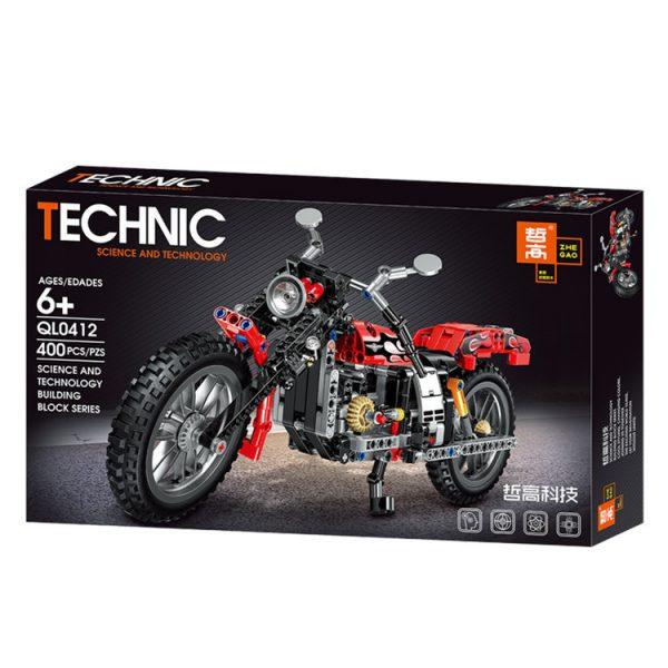 ZHEGAO QL0412 Harley Moto 6