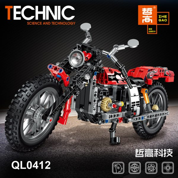 ZHEGAO QL0412 Harley Moto 8