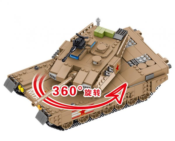 ZHEGAO QL0129 Tank Corps: China M1A2 Main Battle Tank 3