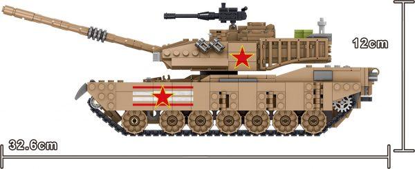 ZHEGAO QL0129 Tank Corps: China M1A2 Main Battle Tank 6