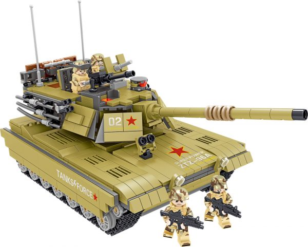 ZHEGAO QL0130 China 96A Main Battle Tank 2