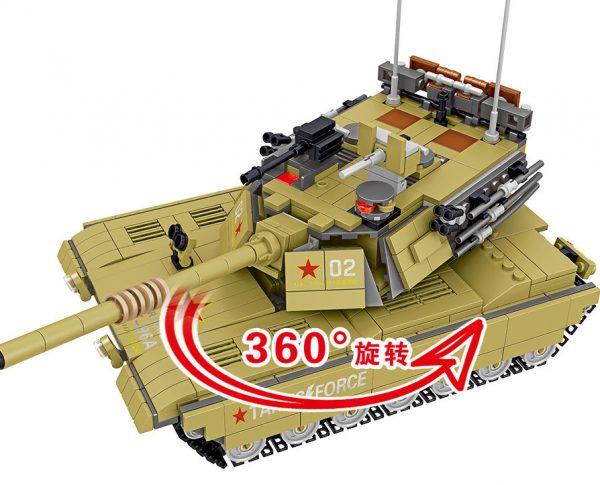 ZHEGAO QL0130 China 96A Main Battle Tank 3