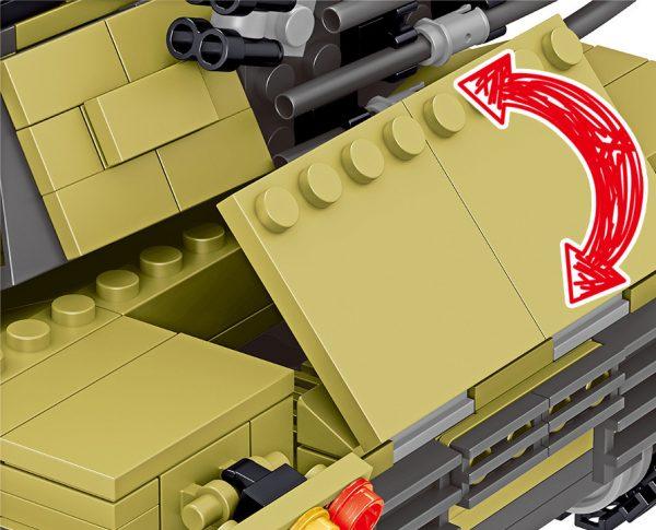 ZHEGAO QL0130 China 96A Main Battle Tank 5