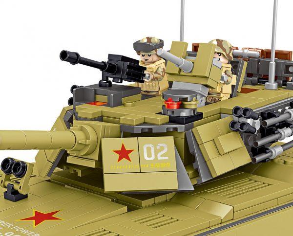 ZHEGAO QL0130 China 96A Main Battle Tank 6
