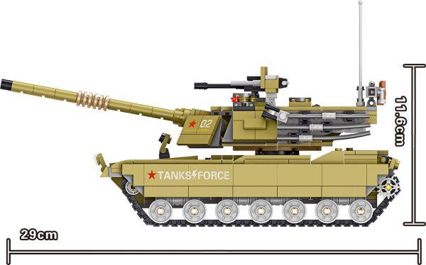 ZHEGAO QL0130 China 96A Main Battle Tank 7