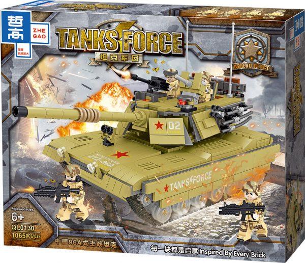 ZHEGAO QL0130 China 96A Main Battle Tank 8