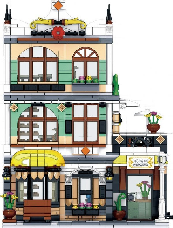 ZHEGAO QL0936 Street View: Roman Restaurant 1