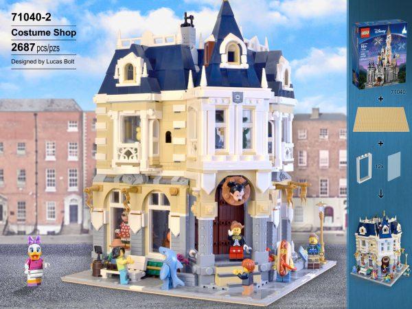ZHEGAO QL0923 Corner Theme Park 71040 set 1