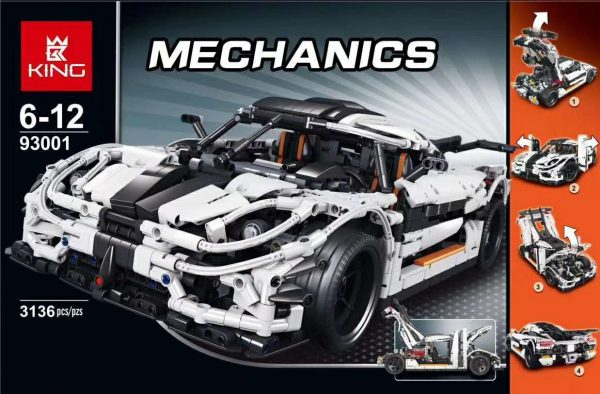 ZHEGAO QL0416 Koenigsegg 35