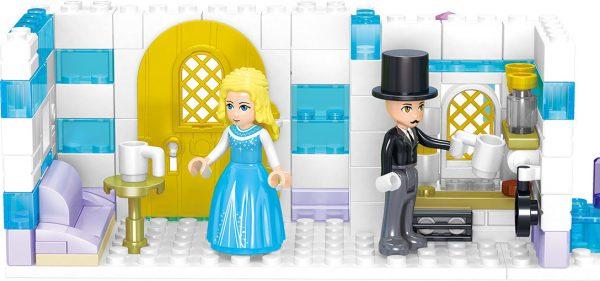 ZHEGAO QL1140 Windsor Castle Ice season: Lilith's Crystal Ice House 4