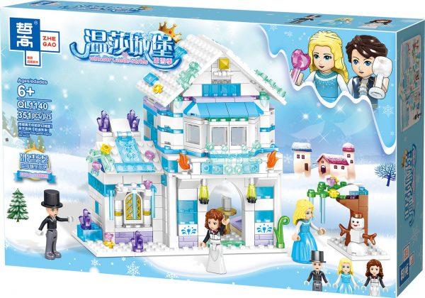 ZHEGAO QL1140 Windsor Castle Ice season: Lilith's Crystal Ice House 5