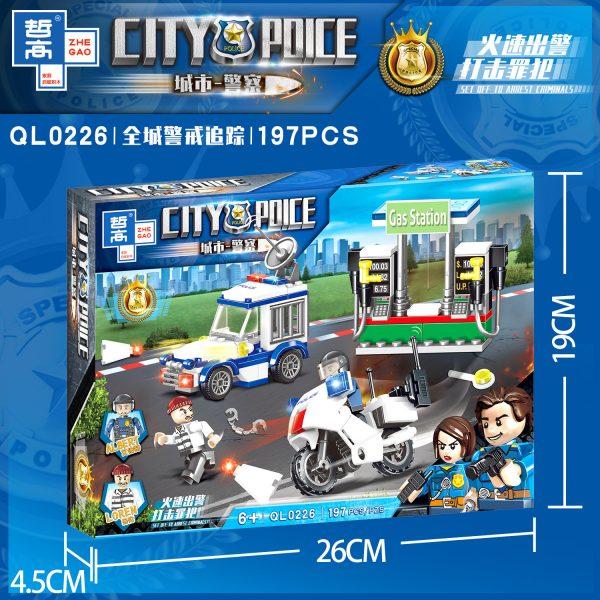 ZHEGAO QL0226 City Police: City-wide Alert Tracking 4 4